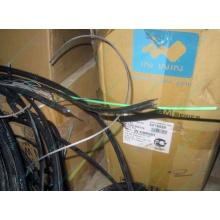 Оптический кабель Б/У для внешней прокладки (с металлическим тросом) в Благовещенске, оптокабель БУ (Благовещенск)