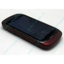 Красно-розовый телефон Alcatel One Touch 818 (Благовещенск)