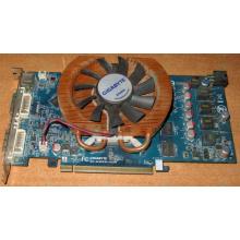 Глючная видеокарта 512Mb DDR3 nVidia GeForce 9800GT Gigabyte GV-N98TZL-512H PCI-E (Благовещенск)