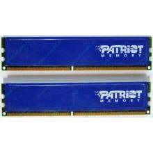 Память 1Gb (2x512Mb) DDR2 Patriot PSD251253381H pc4200 533MHz (Благовещенск)
